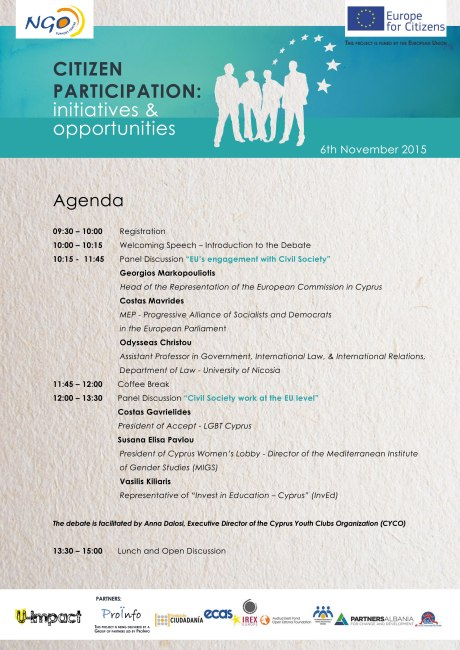 Civil Society & the EU- Agenda